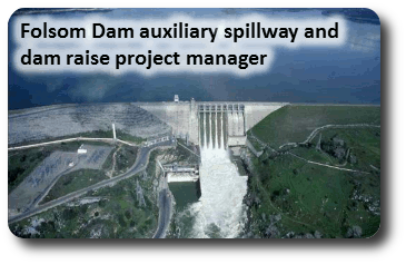 Folsom Dam in Northern California